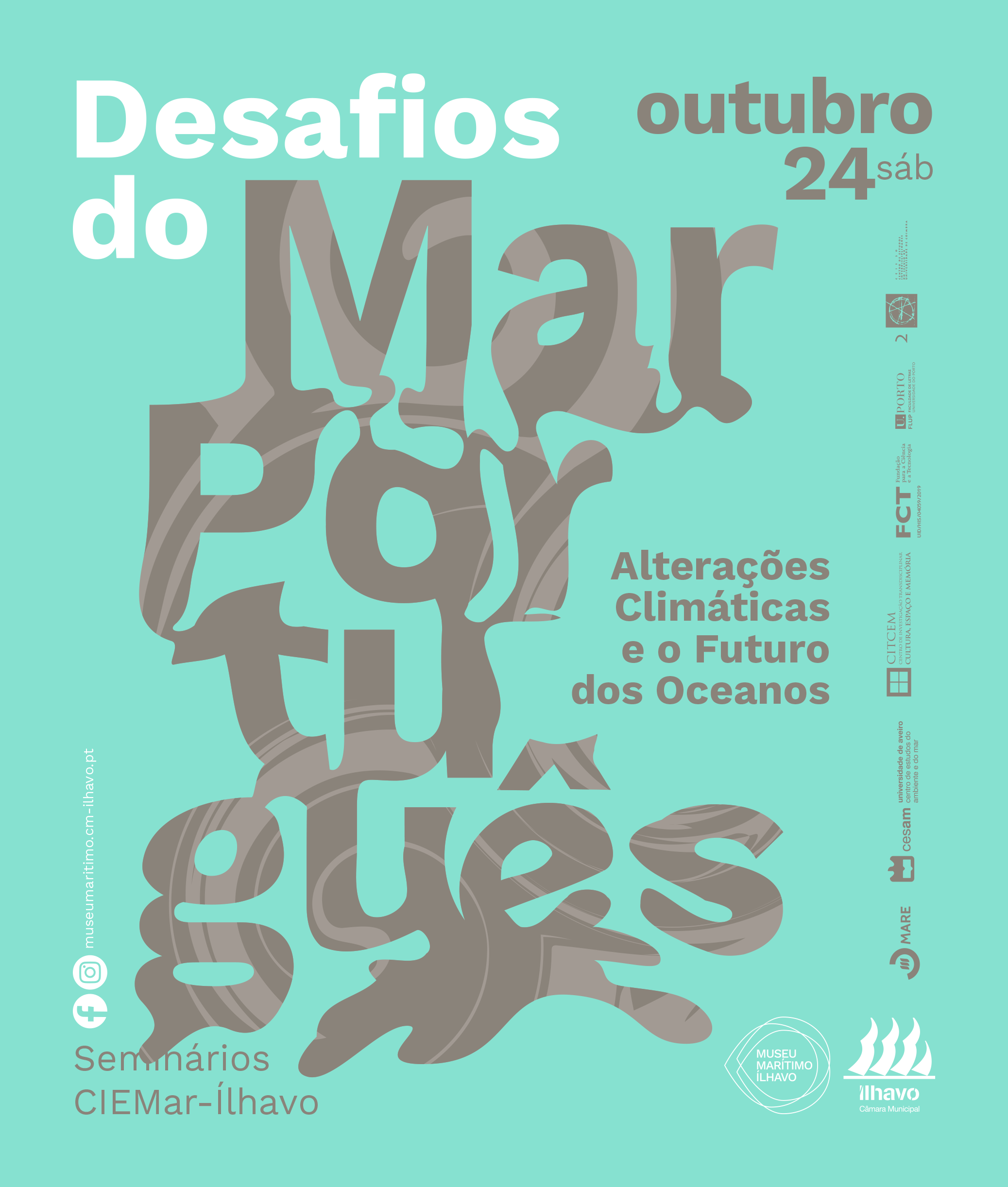 Cartaz Seminário Desafios do Mar Português