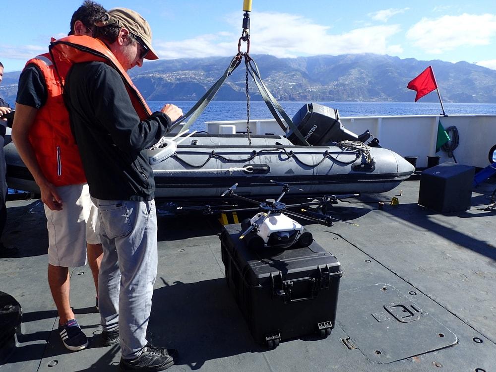 Equipamento trabalho de campo – Drone