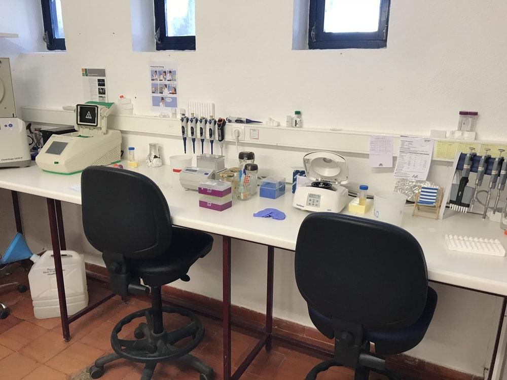 Equipamento de laboratório – MARE-UÉvora