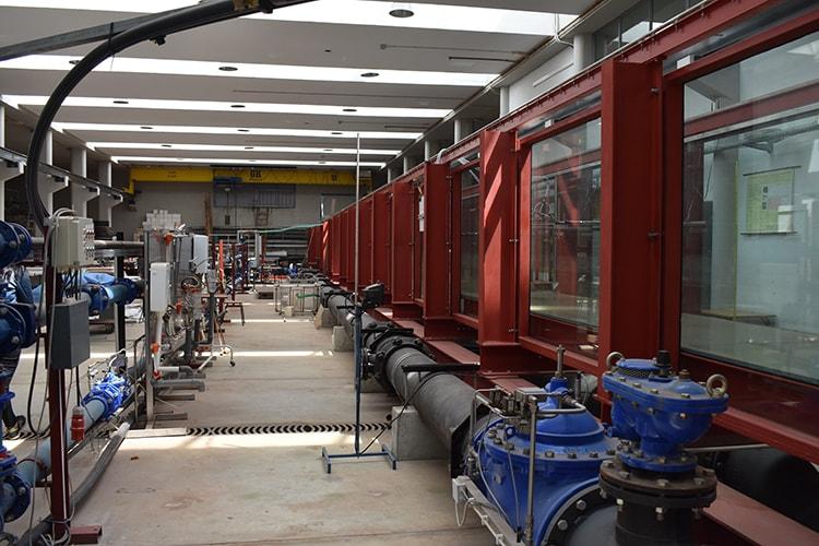 Laboratório de hidráulica – Canal de ondas – MARE-UCoimbra