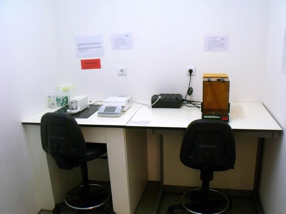 Sala de microbalança – MAREFOZ